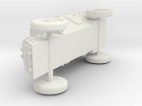 Russo-Balt typ C 1:87 - H0 in White Natural Versatile Plastic