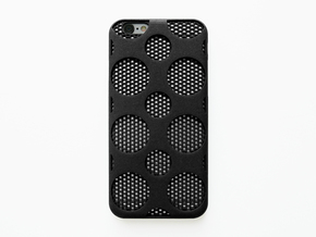 iPhone 6/6S Case_Dots in Black Natural Versatile Plastic