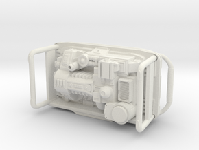 Portable Power Generator 1/24 scale in White Natural Versatile Plastic
