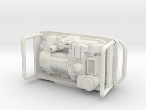 Portable Power Generator 1/24 scale in White Natural Versatile Plastic