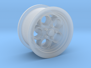 1/18 Muscle Machines Circle Rim Front in Smooth Fine Detail Plastic