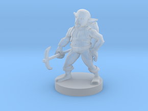 Svirfneblin ( Deep Gnome ) in Smooth Fine Detail Plastic