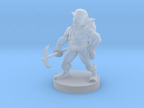 Svirfneblin ( Deep Gnome ) in Smooth Fine Detail Plastic