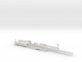 Sawmill Complete 1-48 in White Natural Versatile Plastic