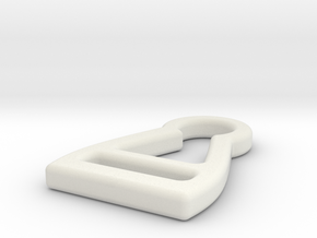 Quinny Zapp Shopping basket clip in White Natural Versatile Plastic