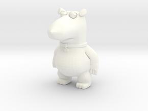 Family Guy Vinny figurine in White Processed Versatile Plastic