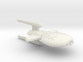 3125 Scale Gorn Compsognathus+ Frigate (FF) SRZ in White Natural Versatile Plastic