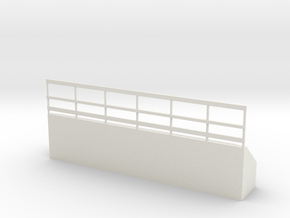 feedbunk in White Natural Versatile Plastic: 1:64 - S