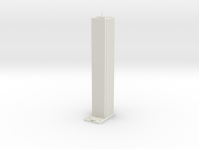 AON Center - Chicago (1:2000) in White Natural Versatile Plastic