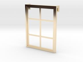 Window - Pendant in 14K Yellow Gold