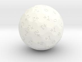 4dF in one (d81) in White Processed Versatile Plastic