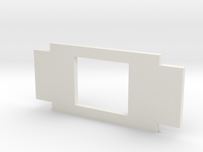 Microscope plate adapter in White Strong & Flexible