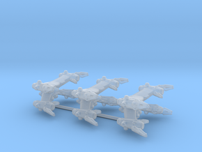 EA Starfury Aurora Fighter 3-Pack in Smooth Fine Detail Plastic