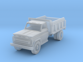 HO scale Dump Truck, WOT#30201 in Smooth Fine Detail Plastic