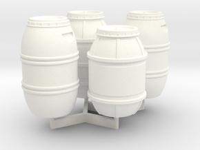 1:43 DEAGO FALCON YT1300 ANH CARGO BARREL SET TB.1 in White Processed Versatile Plastic