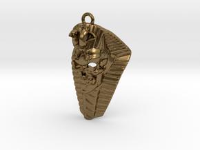 Pharaoh Skull in Natural Bronze