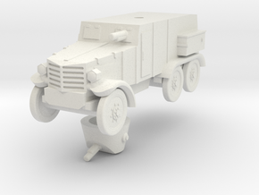 1/100 (15mm) Type 92 Chiyoda armored car in White Natural Versatile Plastic