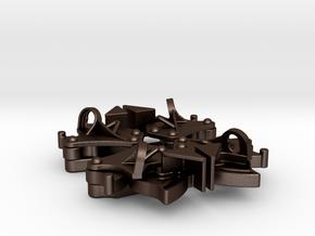 Hopper pocket latches (4) in Matte Bronze Steel