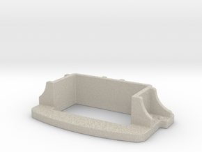 Brake Coupler Pocket in Natural Sandstone