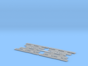 1:35 T-34 Grills Early for Dragon in Smooth Fine Detail Plastic