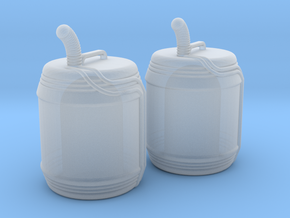 1:43 DEAGO FALCON YT1300 ANH JERRYCAN SET TA.2 in Smooth Fine Detail Plastic