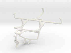 Controller mount for PS4 & Kyocera DuraForce Pro in White Natural Versatile Plastic
