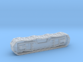 7mm scale Priestman Cub crawler track in Smooth Fine Detail Plastic