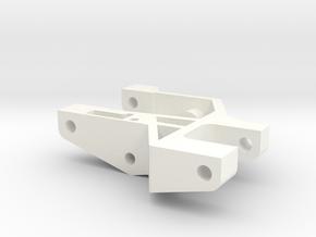 1/5 SCALE FRONT ARM, SHORT, RH in White Processed Versatile Plastic