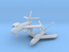 Republic XF-91 Thunderceptor Pair 6mm 1/285 in Smooth Fine Detail Plastic