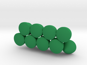 Solids Of Constant Width (1cm) in Green Processed Versatile Plastic: 1:16