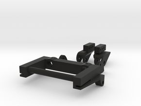 SCX10 Rear Leaf Spring Combo LWB in Black Natural Versatile Plastic