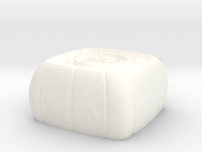 Moon cake 1 keycap - CherryMX in White Processed Versatile Plastic
