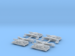 Aspot Oersik Spoor 1 set van 4 in Smooth Fine Detail Plastic