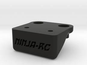 support aileron TM2V2 TeamC / Front wing support f in Black Natural Versatile Plastic