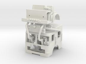 1/87 HME Rat cab in White Natural Versatile Plastic