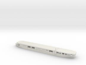 HMS Audacity 1/1800 in White Natural Versatile Plastic