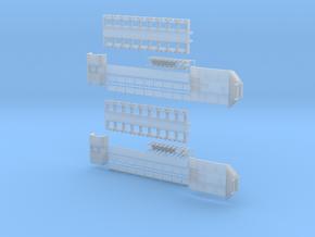 D 07-2stk Tiefbett ähnlich Doll Panther 1achs  v1 in Smooth Fine Detail Plastic