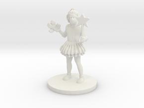 Princess Punch (medium human) in White Natural Versatile Plastic