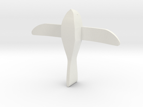 Saqqara Bird (1:2 scale) in White Strong & Flexible
