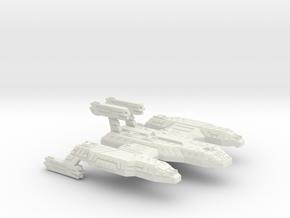 3125 Scale Lyran Cave Lion Battleship (BB) CVN in White Natural Versatile Plastic