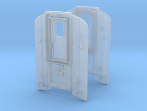 Amtrak Pacific Parlour Replacement Ends in Smoothest Fine Detail Plastic