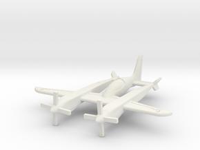 (1:144) Scaled Composites Pond Racer in White Natural Versatile Plastic