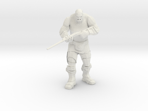 Mutant with Wasteland Shotgun in White Natural Versatile Plastic