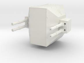Derelict-Beacon Laser Battery  in White Natural Versatile Plastic