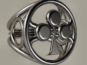 Size 21 5 mm LFC Clubs in Polished Silver