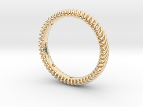 Wire Rope Ring Size 10 - ID - 19.77mm in 14K Yellow Gold: Large