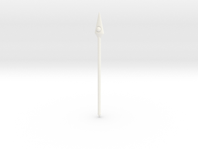 Crimson Pearl Spear VINTAGE in White Strong & Flexible Polished