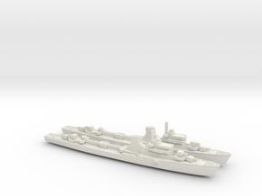 Commandanti Megalie d'Oro 1/700 in White Natural Versatile Plastic