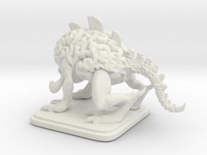 BrainBeast in White Natural Versatile Plastic