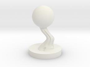 Will-o'-Wisp in White Natural Versatile Plastic